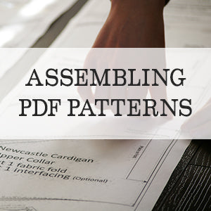 Assembling a PDF pattern tutorial