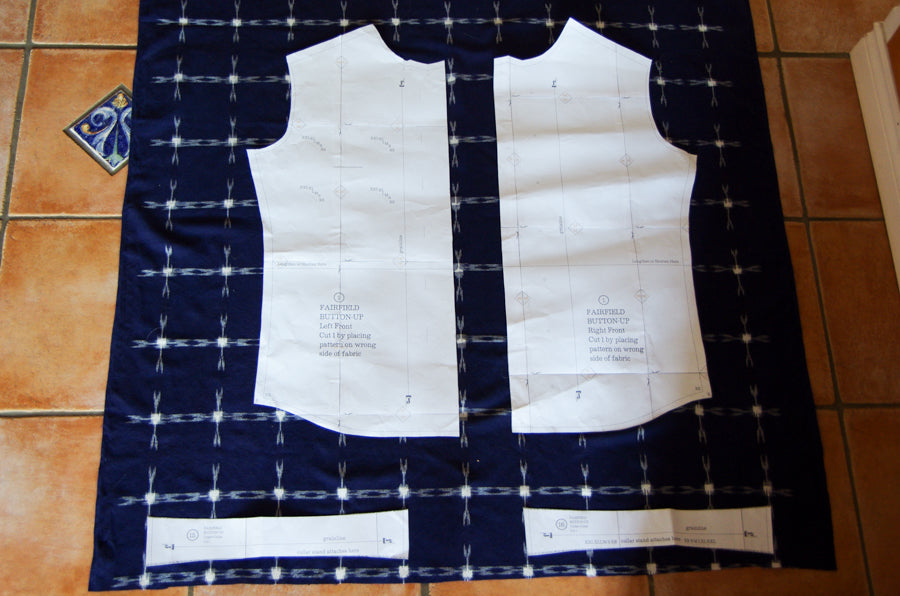 Fairfield Sew Along - matching plaids and stripes-7