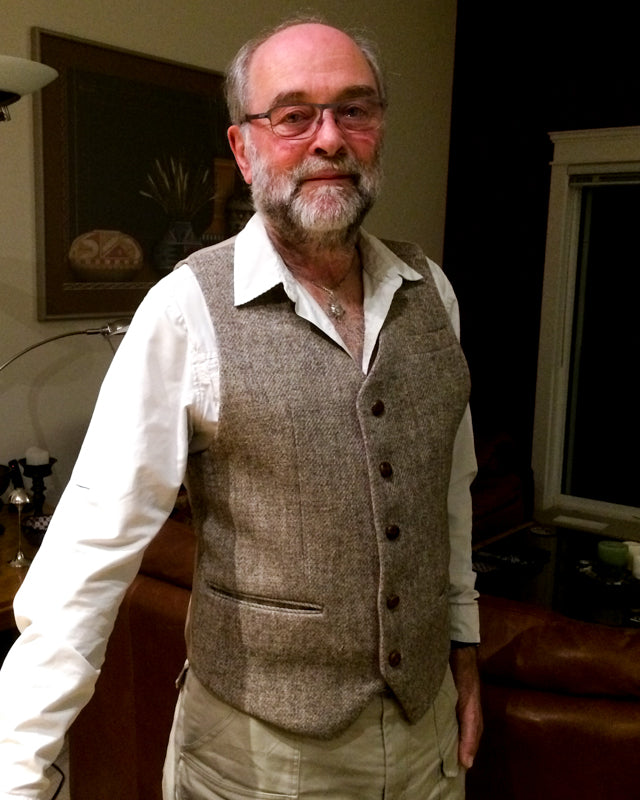 Harris Tweed Repurposed Vest (22 of 26)