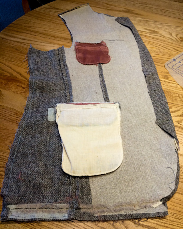 Harris Tweed Repurposed Vest (6 of 26)