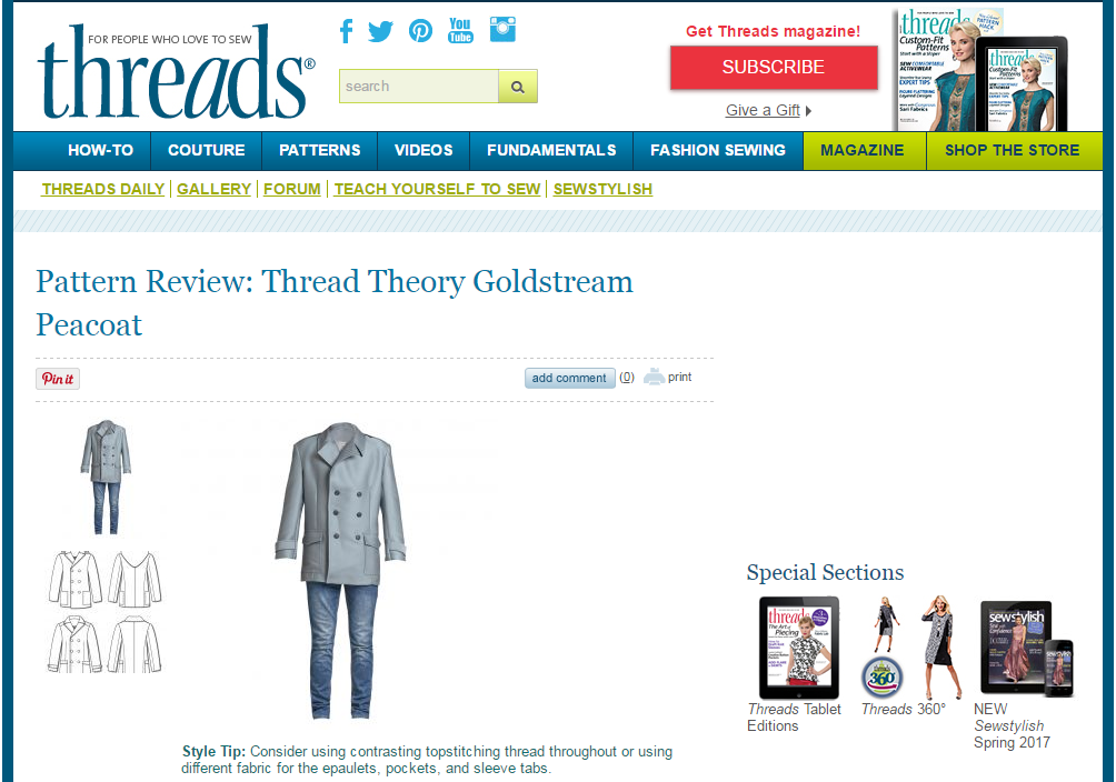 Threads magazine review