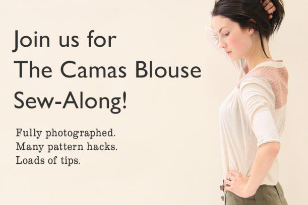 Camas Blouse Sew-along Announcement