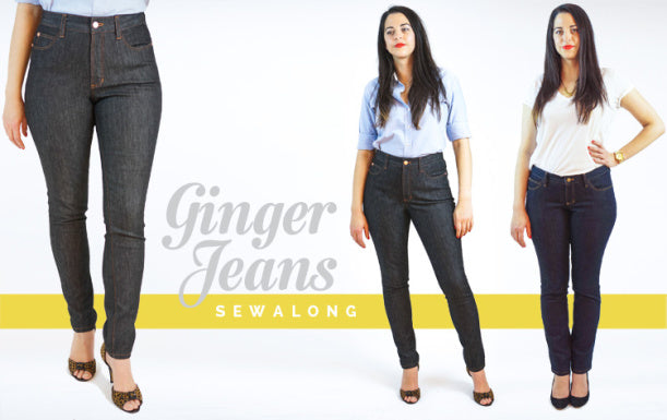 Ginger Jeans sew-along