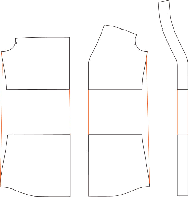 Lengthening the Camas Blouse