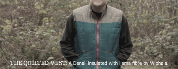 The Quilted Vest - Thread Theory Menswear Sewing