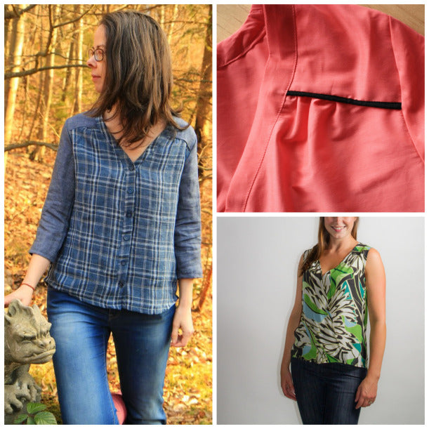 Your Camas Blouse Hacks