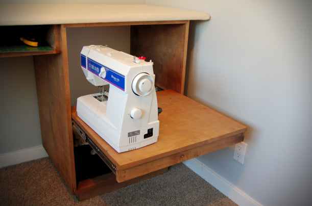 DIY Ironing and Pinning Table