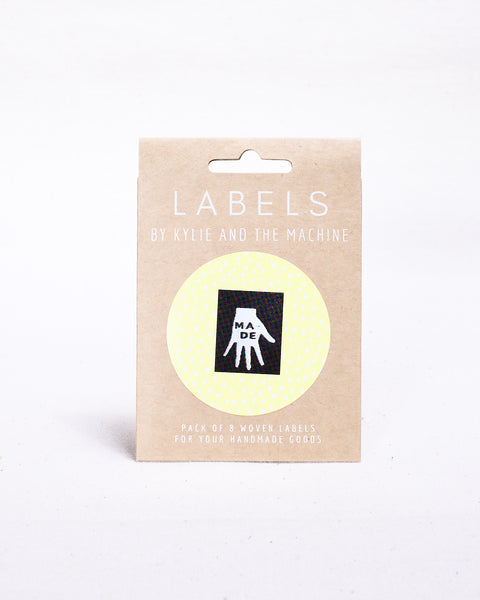"""MADE"" Woven Labels 