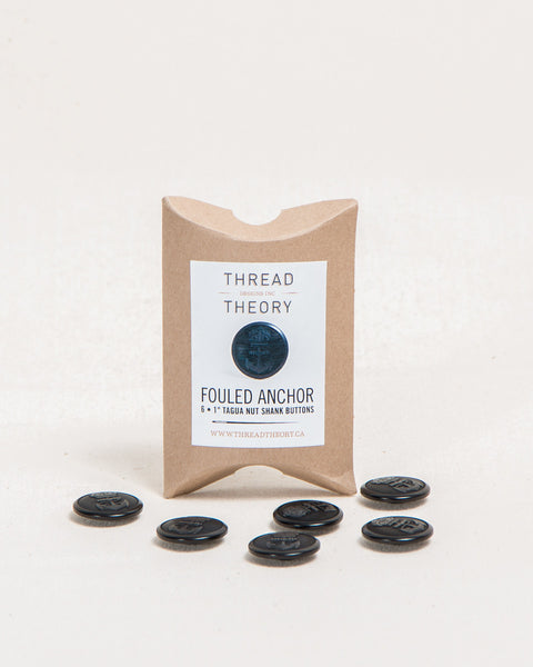 Fouled Anchor Buttons - Set of 6 - Thread Theory - 1