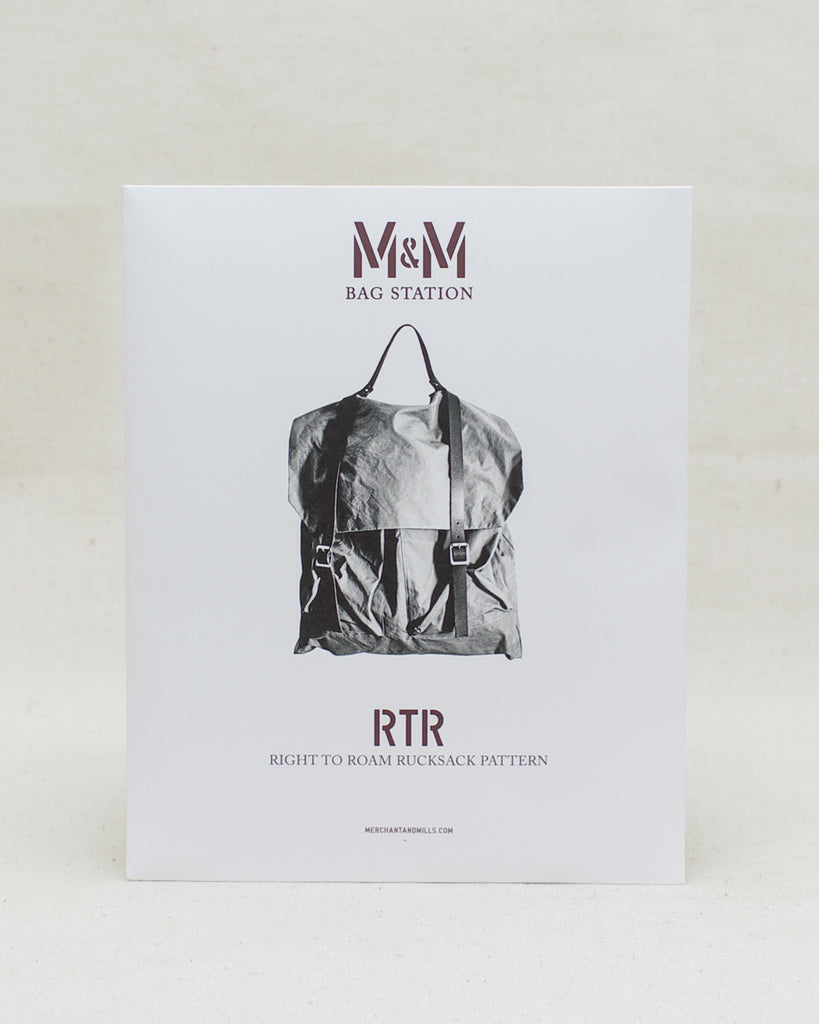 Right to Roam Rucksack Pattern - Merchant & Mills