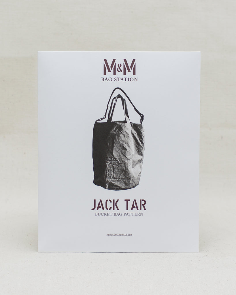 Jack Tar Bucket Bag Pattern - Merchant & Mills
