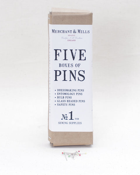 Boxed Set of Pins (5 Varieties)