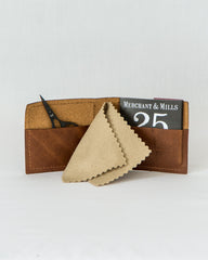 Leather Needle Wallet Gift Set - Thread Theory - 1