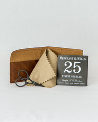 Leather Needle Wallet Gift Set - Thread Theory - 3