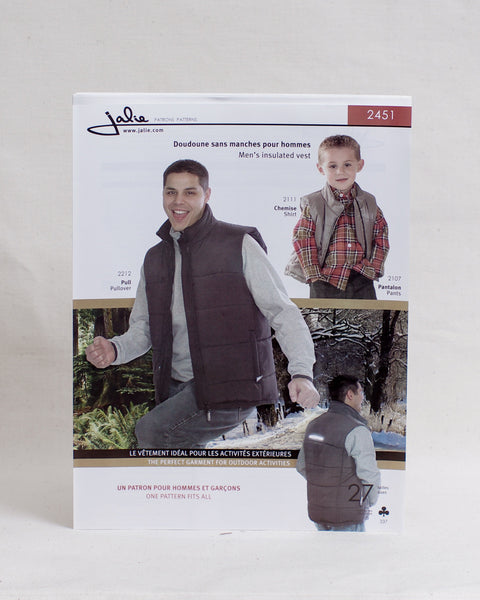 Jalie Sewing Patterns - Insulated Vest