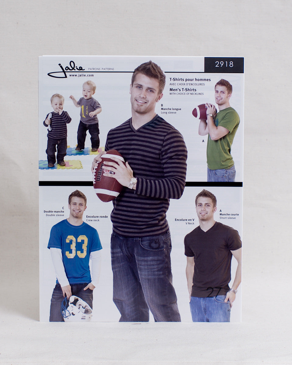 Jalie Sewing Patterns - Men's T-shirts