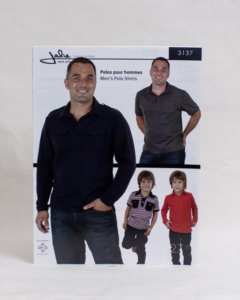 Jalie Sewing Patterns - Men's Polo Shirt