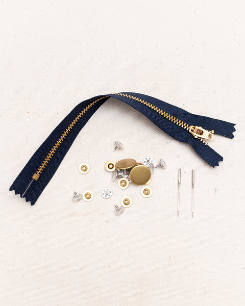 Zipper Fly Jeans Making Kit