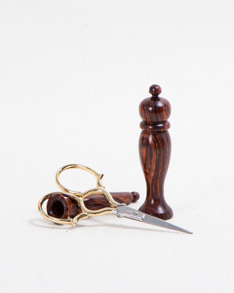 Wooden Needle Case and Scissor Set - Thread Theory - 1
