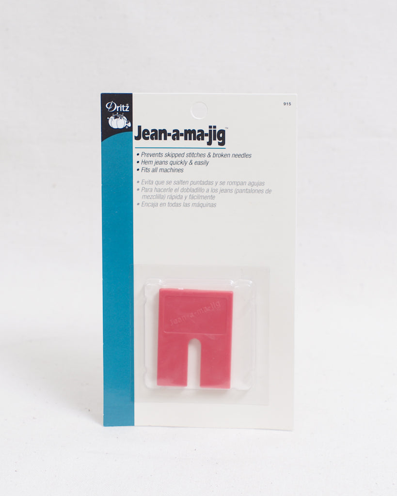 Jean-a-ma-jig - Smooth stitches for thick fabrics