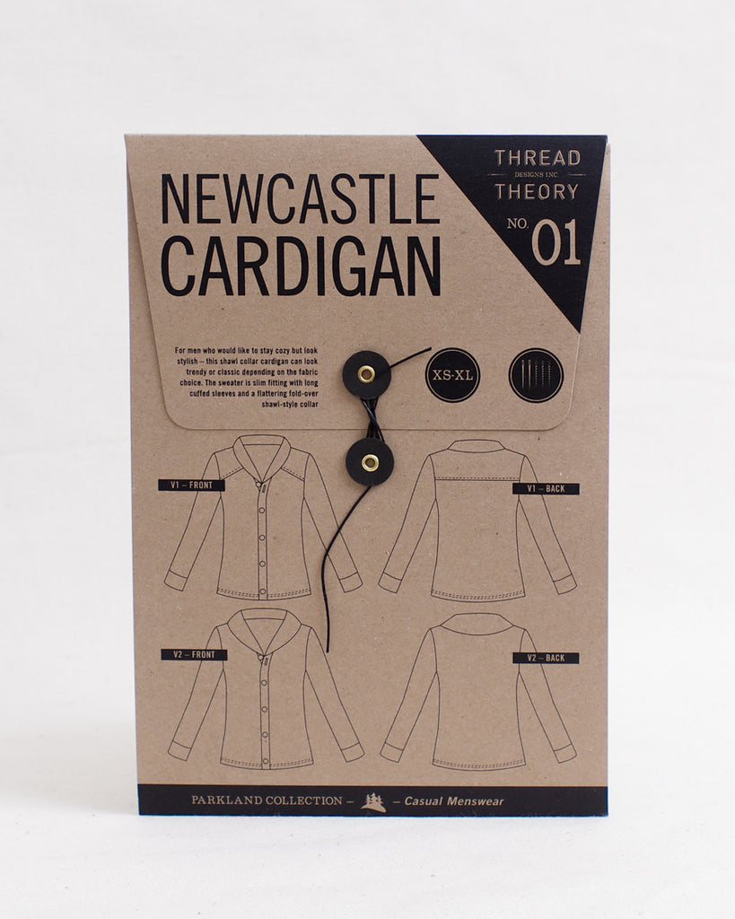 Newcastle Cardigan Tissue Pattern