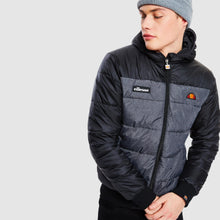 Laden Sie das Bild in den Galerie-Viewer, ELLESSE BRENTA STEPPJACKE BLACK