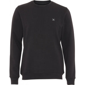 CLEAN CUT COPENHAGEN BASIC SWEATSHIRT BLACK ORIGINAL PREIS 69,95