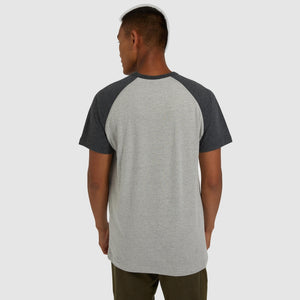 ELLESSE BIG LOGO COPER T-SHIRT GREY
