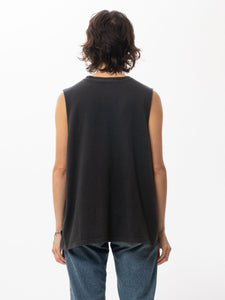 NUDIE JEANS LOUISE TANK TOP BLACK