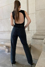 Laden Sie das Bild in den Galerie-Viewer, NU-IN OPEN BACK RIBBED BODYSUIT