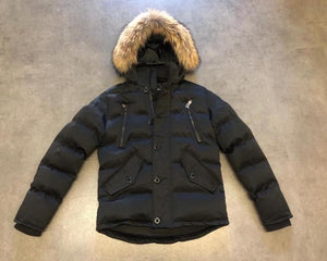 JAMMES QUILTED STEPP JACKE BLACK