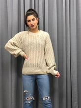 Laden Sie das Bild in den Galerie-Viewer, MOSS COPENHAGEN CELENA KNIT PULLOVER BROWN ORIGINAL PREIS 64,95
