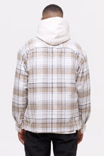 Laden Sie das Bild in den Galerie-Viewer, PEGADOR FLATO HEAVY WOOL FLANNEL CREME