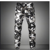 Camouflage Military Jogger Men's Pants Pure Cotton Mens Camo Joggers