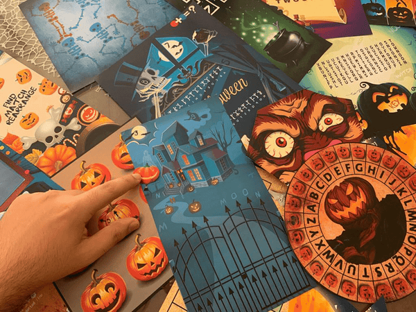 Halloween Escape Room Printable Game Kit for Kids