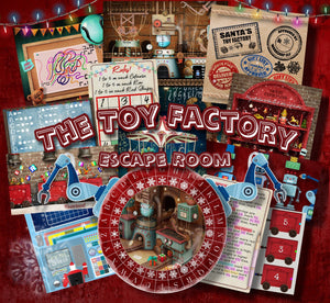 The Toy Factory Printable Escape Room Kit