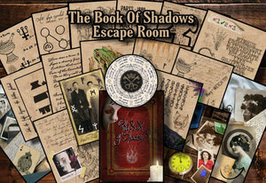 The Book Of Shadows Printable Escape Room Kit