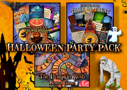 Halloween Games Party Pack