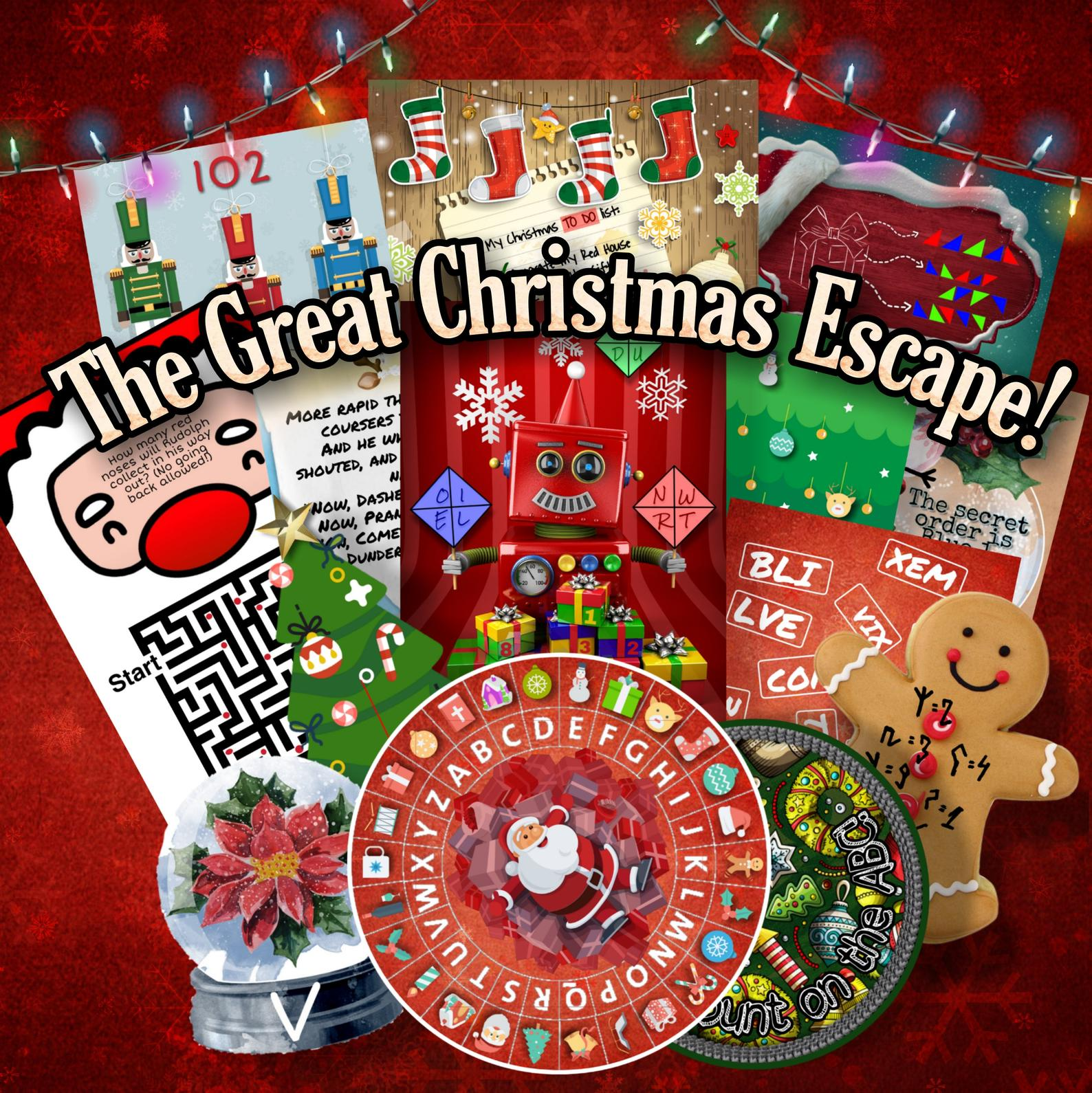 The Great Christmas Escape Printable Escape Room