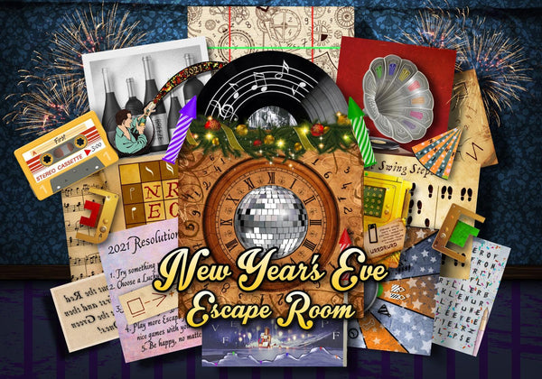 New Year's Eve Printable Escape Room Kit