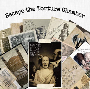 Torture Chamber | Printable Escape Room Kit - Mystery Locks