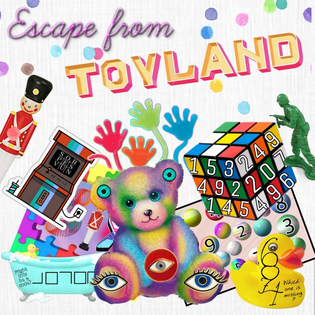 ToyLand | Escape Room for Kids | Printable Escape Room Kit - Mystery Locks