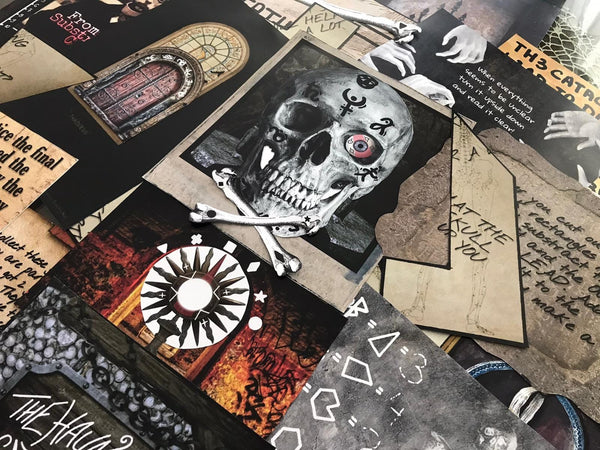 The Haunted Catacombs | Printable Escape Room Kit - Mystery Locks
