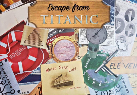 Titanic | Printable Escape Room Kit - Mystery Locks