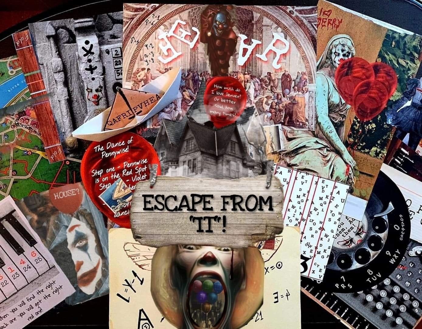 Escape from IT! | Printable Escape Room Kit - Mystery Locks