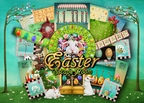 Easter Escape Room Printable Escape Room Kit for Kids