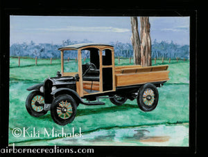 Model T by the Lake Print