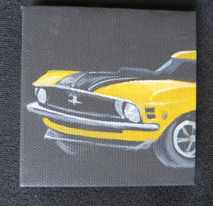 Mustang - Mini Canvas