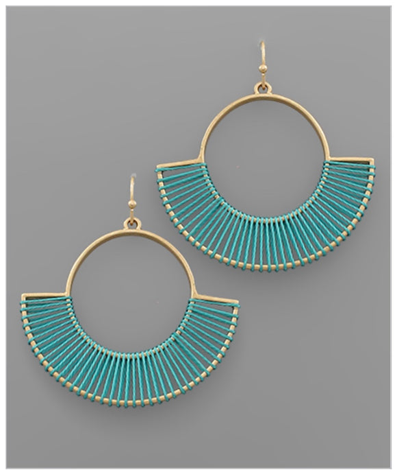 Emery Earrings - Turquoise