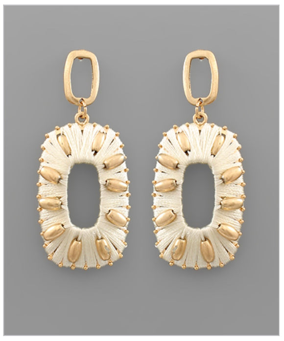 Cori Earrings - Ivory